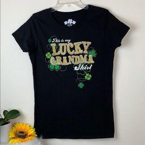 Lucky T-Shirt Lucky Grandma